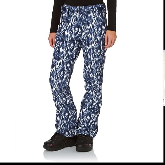 cfb547d977 Billabong Pants | Snoboardski Malla Ikat Blue | Poshmark